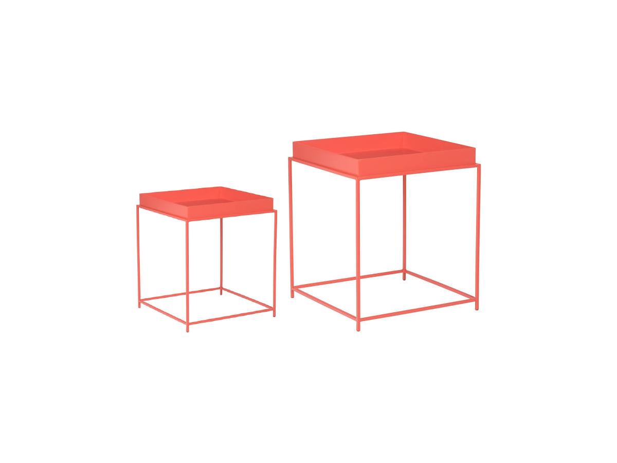 Ângela Pinheiro - Decoração de Interiores - Home Design - Cor do Ano - Coral - Mesas Coral