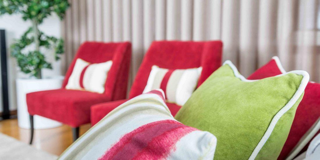 Ângela Pinheiro - Decoração de Interiores - Home Design - Decoração de Interiores - Sala Vermelha