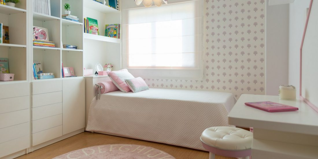 Ângela Pinheiro - Decoração de Interiores - Home Design - Decoração de Interiores - De escritório a Quarto de Menina