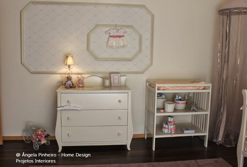Ângela Pinheiro - Decoração de Interiores - Home Design - Quarto de Bebe