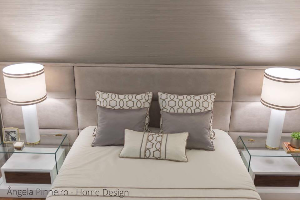 Ângela Pinheiro - Decoração de Interiores - Home Design - Agrival 2014 - Quarto Elegante