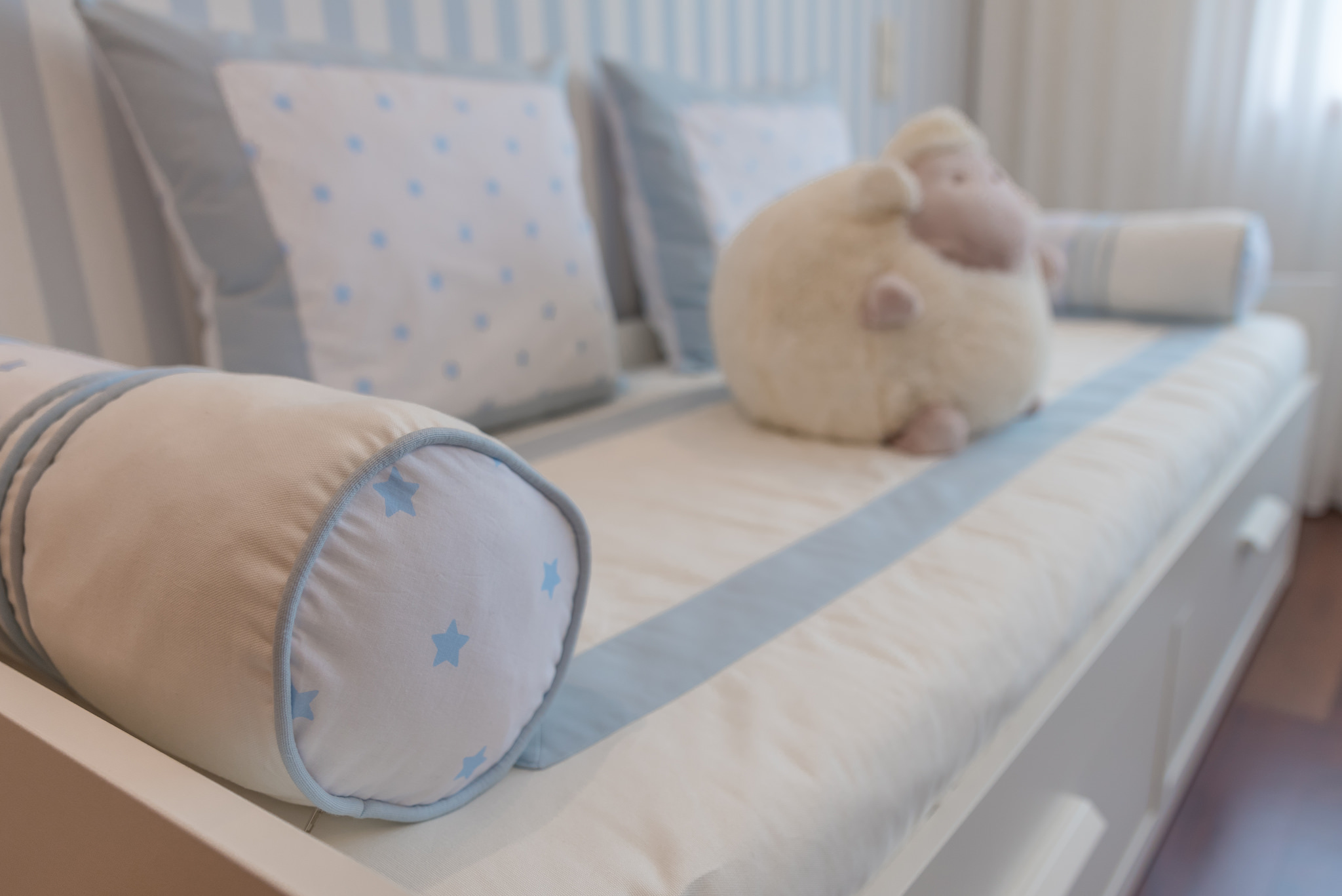 Ângela Pinheiro - Decoração de Interiores - Home Design - Agrival 2014 - Riscas e Estrelas