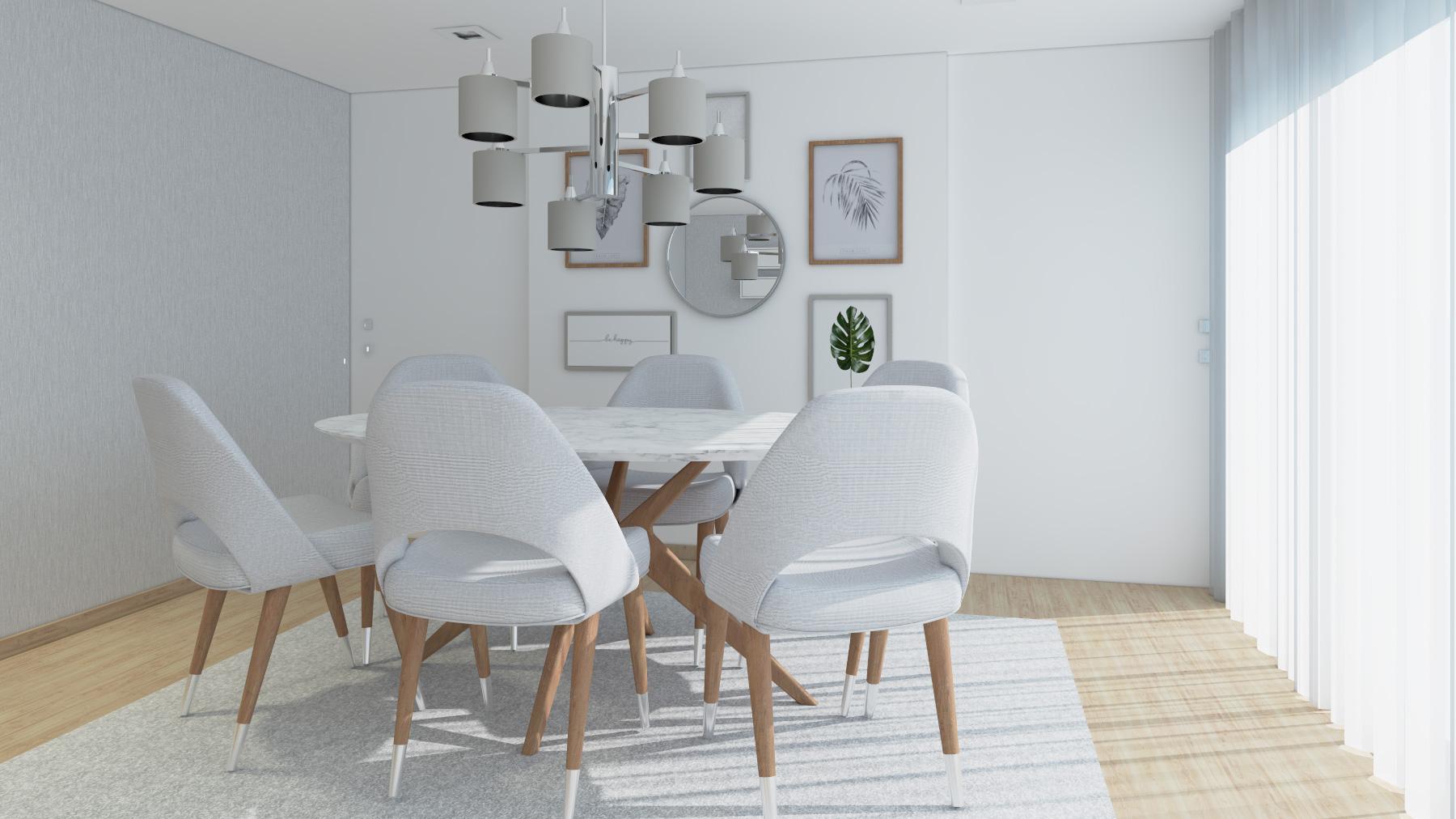 Ângela Pinheiro – Decoração de Interiores – Home Design – Decoração de Interiores – Sala 3D