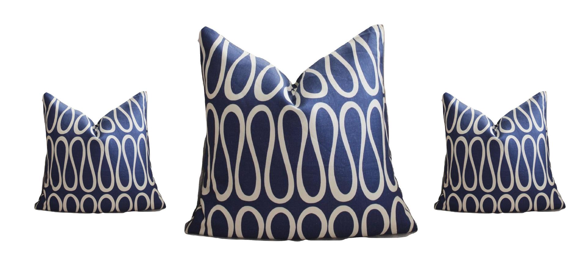 Em almofadas, como estas do Designer Jonathan Adeler Fonte: Jonathan Adeler